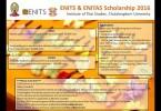 ENITS&ENITAS 2016 scholarship