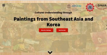 Educational Website: Cultural Understanding through Paintings from Southeast Asia and Korea